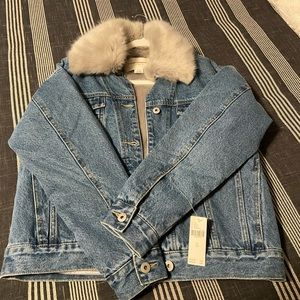 Brand New Jean Jacket from Anthropologie